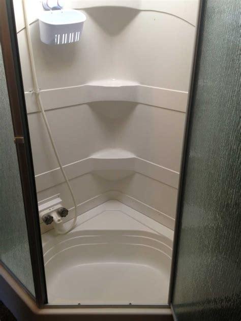 bathroom easy installation  rv shower stall kits