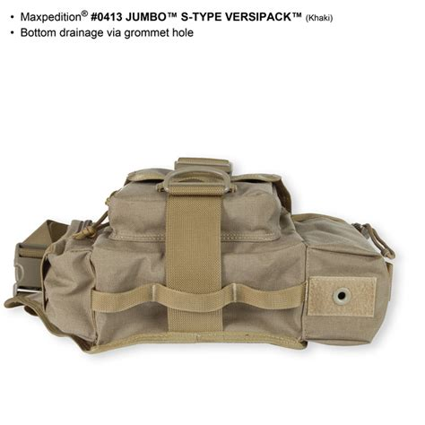maxpedition s type maxpedition jumbo s type versipack