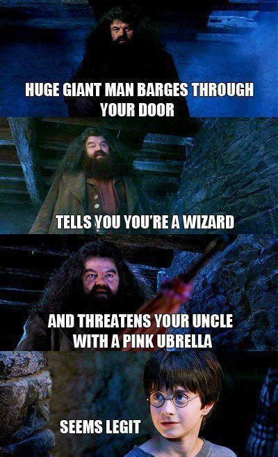 Funny Harry Potter Meme - seems legit 25 pics smosh
