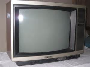 colored tv sony trinitron 21 color television clickbd