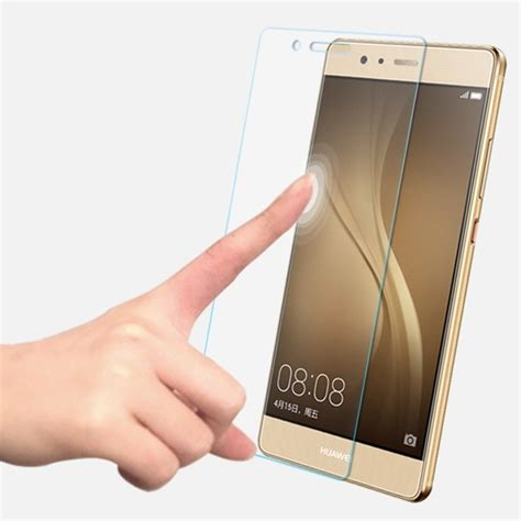 Huawei P9 Screen Protector Tempered Glass x 183 sohso premium tempered glass screen protector for huawei p9
