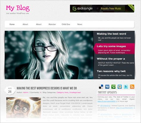 free word press template 15 best simple free premium magazine themes