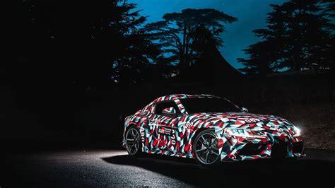 2019 Toyota Supra Manual by 2019 Toyota Supra With Manual Transmission Definitely