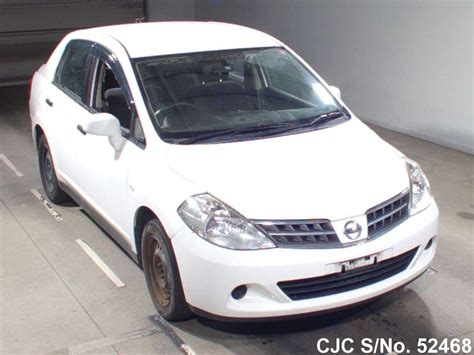 nissan tiida white 2012 nissan tiida latio white for sale stock no 52468