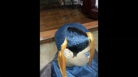 piece quickweave cap weave boy bob long