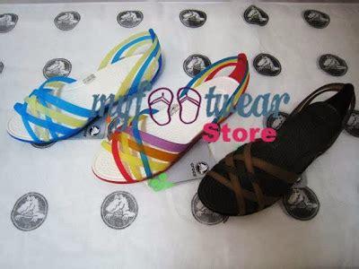 Crocs Color Block Flat Harga Murah myfootwearstore pusat sepatu crocs murah surabaya
