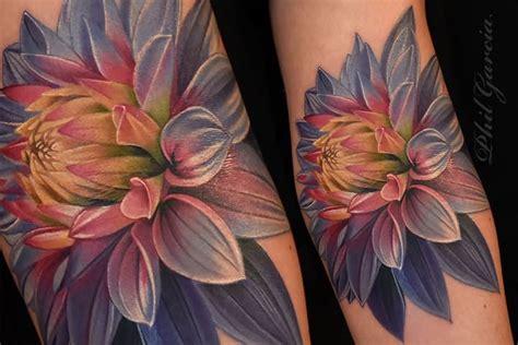 photo realism tattoo artist florida 45 beautiful dahlia tattoos
