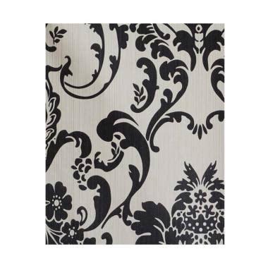 Wallpaper Sticker Dinding Putih Batik Hitam Abstrak Minimalis Modern jual dinding hitam putih terbaru harga murah blibli