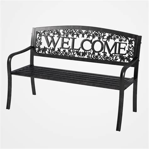 welcome bench 3d welcome bench
