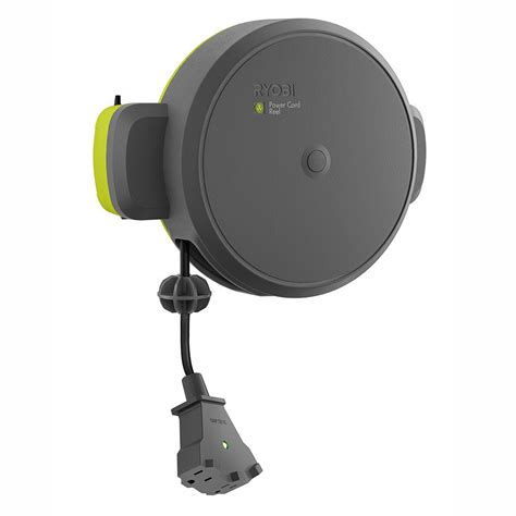 garage fan home depot ryobi garage retractable cord reel accessory gdm330 the