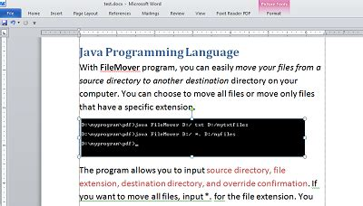 convert pdf to word using java program java programs word to pdf converter