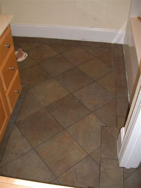 tile floor for small bathroom bathroom tile flooring idea use large in a small bathrooms