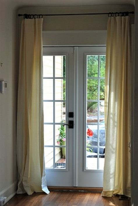 French Door Curtains Ideas ALL ABOUT HOUSE DESIGN : Using