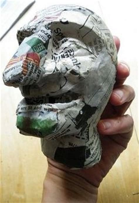 How To Make Paper Mache Molds - 1000 images about paper mache on paper mache