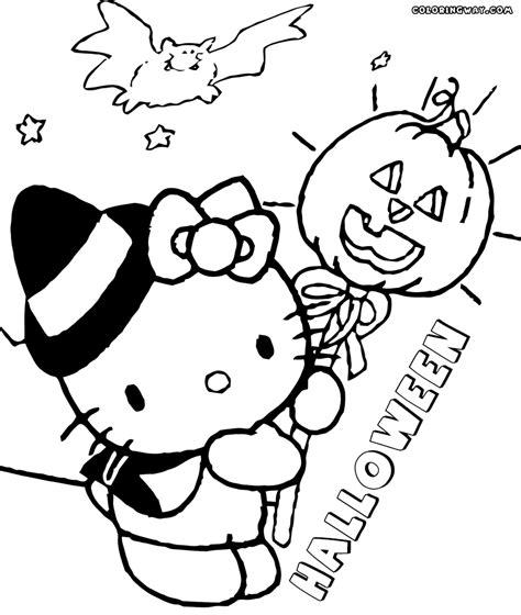 hello kitty skating coloring pages hello kitty halloween coloring pages coloring pages to