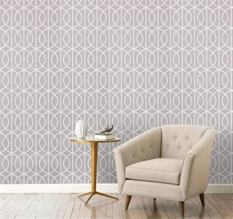 geometric and graphic wallpaper home trends of t o