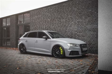 Audi RS3 Sportback ?The RS3 Clubsport Project? Neidfaktor