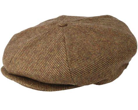 Brixton Ollie Cap Brown 1 ollie moss flat cap brixton caps hatstoreworld