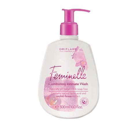 Feminelle Mild Intimate Wash feminine hygiene products orinet oriflame independant