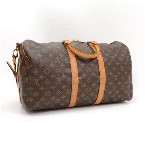 Louis Vouitton Keepall Speedy Bags vintage louis vuitton keepall 45 bandouliere monogram