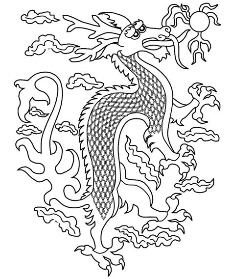 free coloring pages of chinese dragons free printable chinese dragon coloring pages for kids