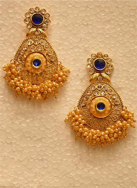 earring ideas jewelry gold earring designs for wedding already4fternoon org