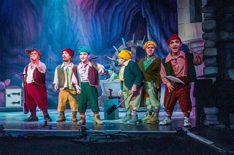 Snow White And The Seven Doors by Panto Klaxon Snow White And The Seven Dwarfs Uk