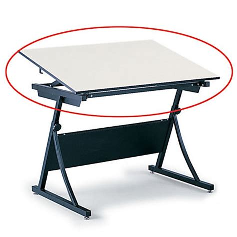Office Depot Drafting Table Safco Planmaster Drafting Table Top 34 H X 60 W X 37 12 D White By Office Depot Officemax
