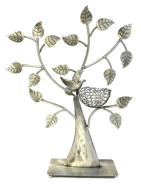 silver bell tree holder 25 beautiful jewelry holder stands zen merchandiser