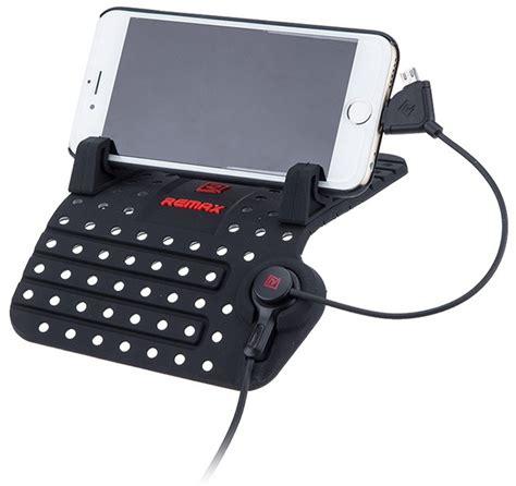 Remax Smartphone Car Holder Cs101 remax rc cs101 car holder unik 225 tn 237 podložka a nab 237 jec 237 drž 225 k do auta pro mobiln 237