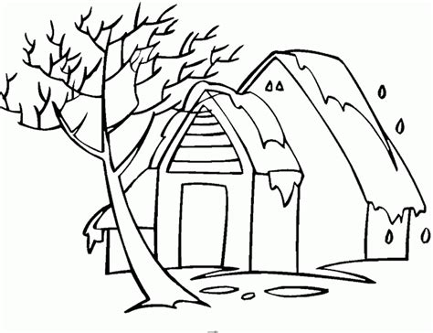 coloring pages of winter houses house winter colouring pages 528759 171 coloring pages for