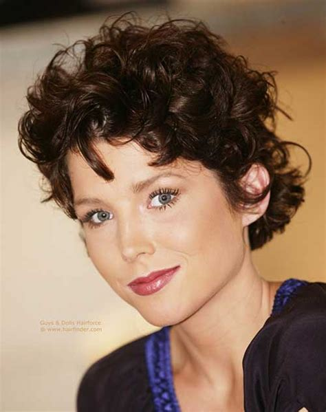 when naturally curly hair shorter in back must see short naturally curly hairstyles short