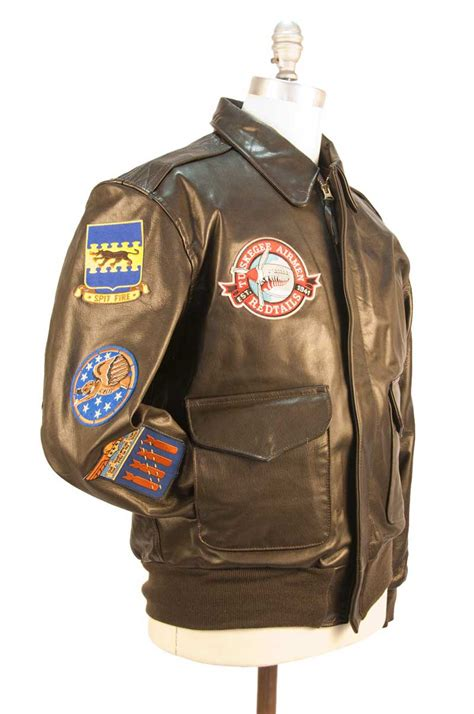 Jaket For 2 Cockpit Avirex Leather Jackets Tuskegee Airmen A 2