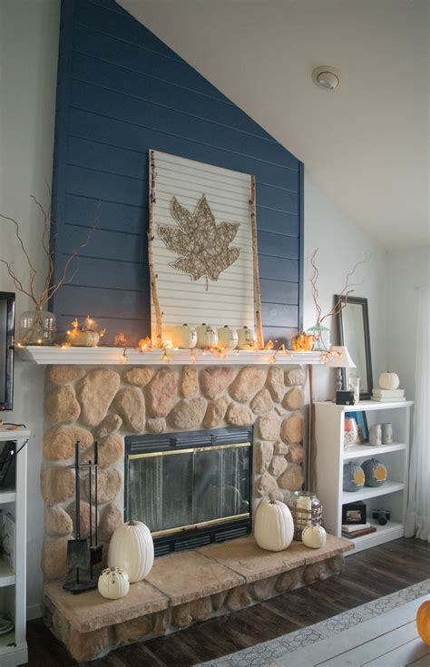 Porch Decor Diy Fireplace Mantel Decor Ideas 1 Of 1 Our House Now