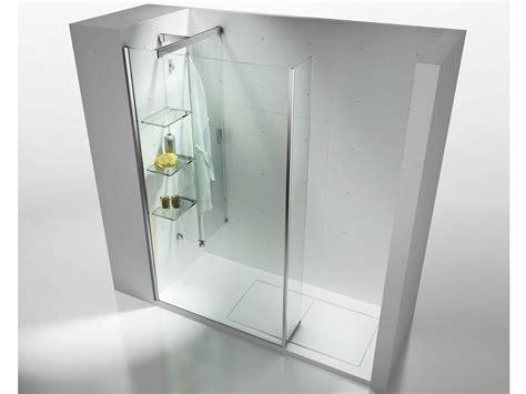 porta accappatoio da doccia panel separador corredero en cristal templado con repisas