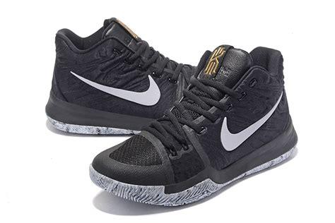 Kyrie 3 Bhm Black nike kyrie 3 bhm black white white for sale sneakers 2017