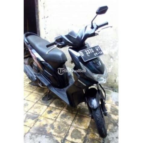 Di Jual Motor Honda Beat 2008 motor matic honda beat bekas tahun 2008 warna hitam plat d