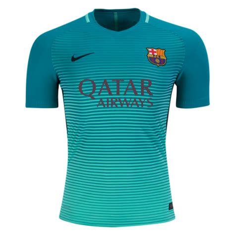 Jersey Kid Barcelona 3rd barcelona 2016 17 third soccer jersey player version barcelona
