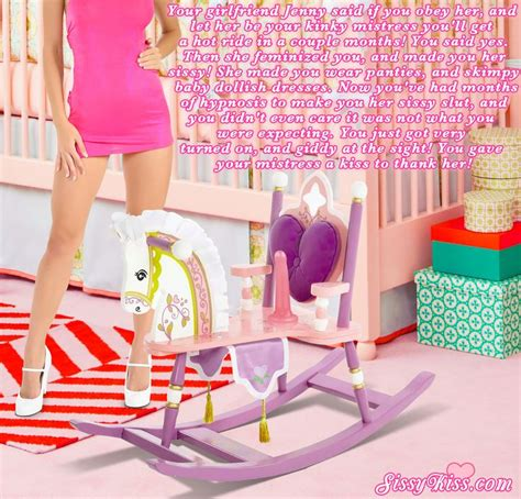 how to diaper train yourself sissy kiss feminization a rocking horse for sissies