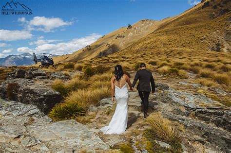 Wedding Ceremony Queenstown by Ledge Weddings Queenstown Heli Wedding Packages