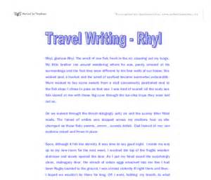 Travel Essay by Travel Essay Writers