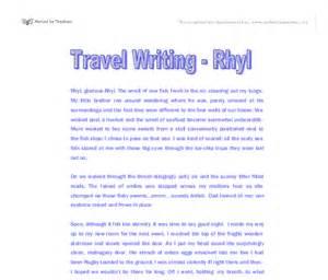 Travel Essay Writers