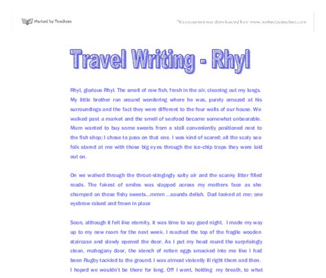 Essay About Trip by College Essays College Application Essays Trip Essay Exle