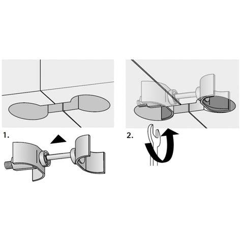 arbeitsplatten verbindungsschiene arbeitsplattenverbinder avb 5 150mm