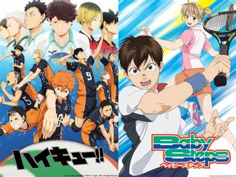 film volleyball anime double sports anime treats baby steps haikyuu world
