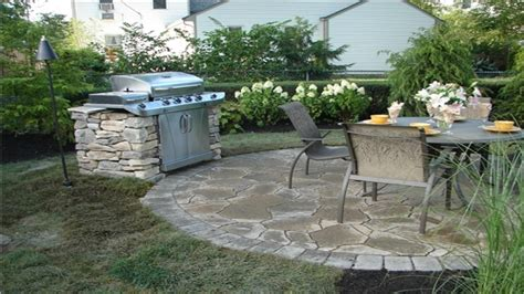 flagstone patio patterns outdoor patio grill design ideas