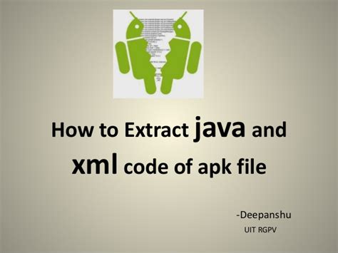how to see apk source code extracting source code of apk file