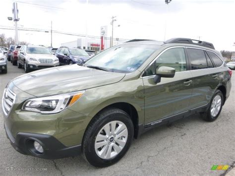 subaru wilderness green wilderness green metallic 2015 subaru outback 2 5i premium