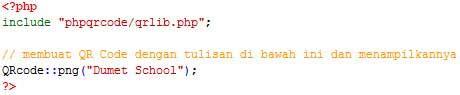 membuat qr code di php membuat qr code dengan php