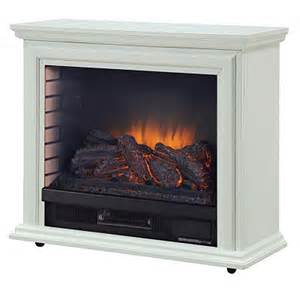 Menards Electric Fireplace Shop Pleasant Hearth 31 73 In W 5 200 Btu White Wood And Metal Infrared Quartz Electric